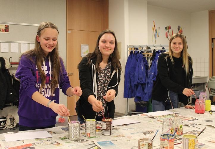 Geile Fickerei in der Deutschen Kunst Schule